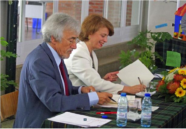 Assinatura Protocolo Min. Educação - Provedor de Justiça