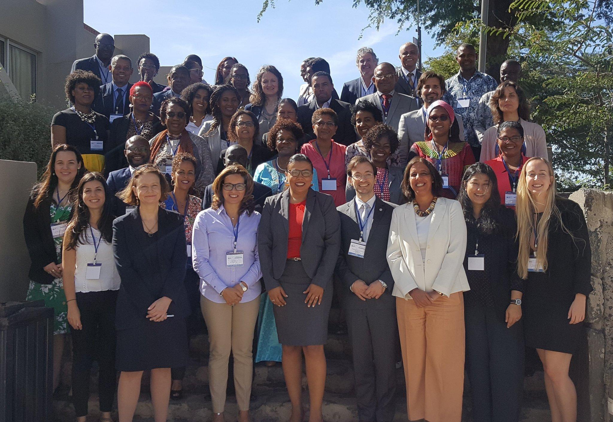 Workshop regional sobre inclusão e direitos humanos - Grupo